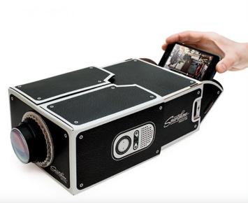 vidéo projecteur smarphone